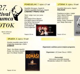 27. Festival glumca, Otok